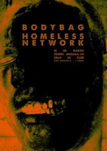 Concierto bodybag homeless network
