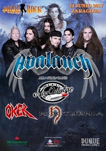 AVALANCH (ALL STAR BAND) + OKER + MISS OCTUBRE+ NOCTURNIA