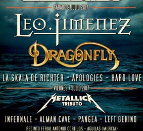ETERNAL DREAM – AERIAL BLACKED – Águilas Rock Festival