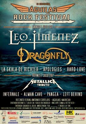 ETERNAL DREAM – AERIAL BLACKED – Águilas Rock Festival