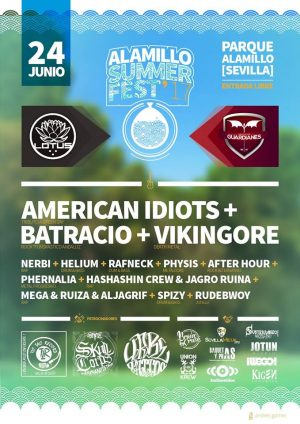 ITCHINCIDE (NOR) – DEATHAWAITS (FRA) – Alamillo Summer Fest