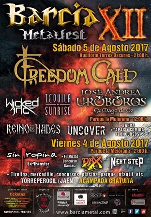 XII Barcia Metalfest – FIRMAM3NT – WALL OF PAPER