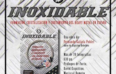 FERNANDO GALICIA POBLET presenta su nuevo libro Inoxidable