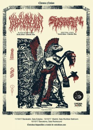 TEETHING – BLOOD INCANTATION (USA) – LANDSEMK (VEN)