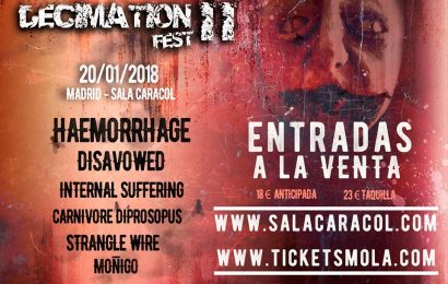 Decimation Fest – THE UNWRITTEN – VIII Culebra Rock