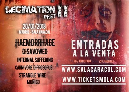 Decimation Fest – THE UNWRITTEN – VIII Culebra Rock