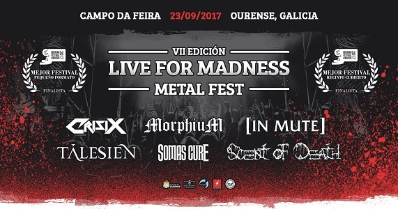 Live for madness metal fest VII – SCARS OF OBLIVION – DREAMS OF AGONY