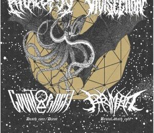 ANALEPSY + HUMAN VIVISECTION + PHRYMERIAL + COUNTERACTT – Madrid 25/07/2017