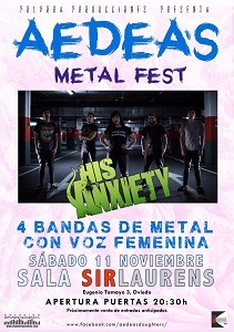 Aedea's Metal Fest – TOTENGOTT – MIST OF MISERY (SWE)