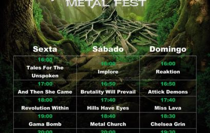 EXPEL THE GRACE – Vagos Metal Fest (PRT) – Cubelles Rock City
