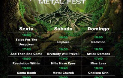 EXPEL THE GRACE – Vagos Metal Fest (PRT) – Cubelles Rock City