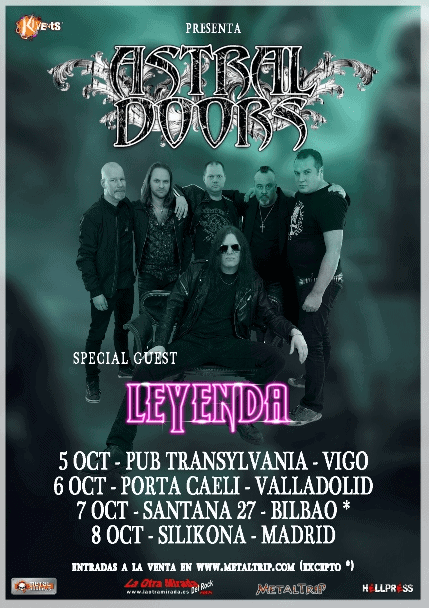 ASTRAL DOORS + LEYENDA (MADRID)