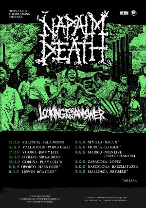 NAPALM DEATH + LOOKING FOR AN ANSWER + FOSTIONER  (MURCIA)