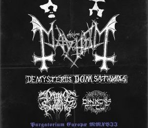 MAYHEM (NOR) + DRAGGED INTO SUNLIGHT (GBR) + THE OMINOUS CIRCLE (PRT) – Bilbao – 11/10/17