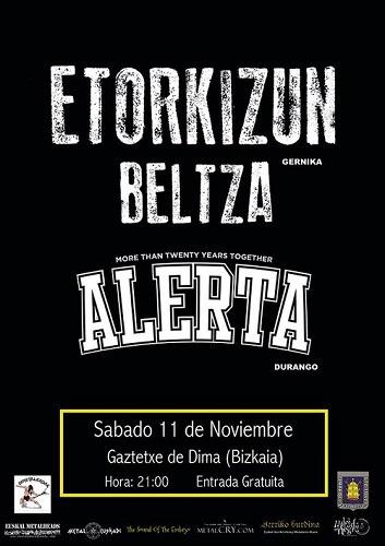 ALERTA + ETORKIZUN BELTZA