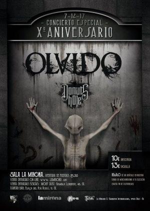 OLVIDO + DONUTS HOLE