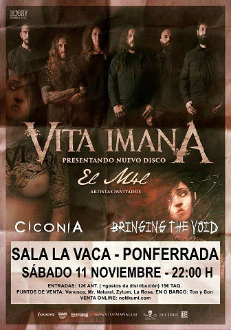 VITA IMANA + CICONIA + BRINGING THE VOID