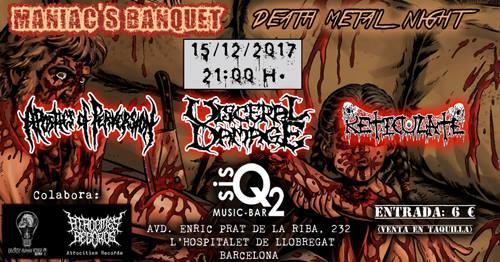 MANIAC BANQUET: DEATH METAL NIGHT