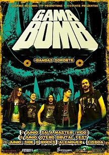 GAMA BOMB + BANDA SOPORTE