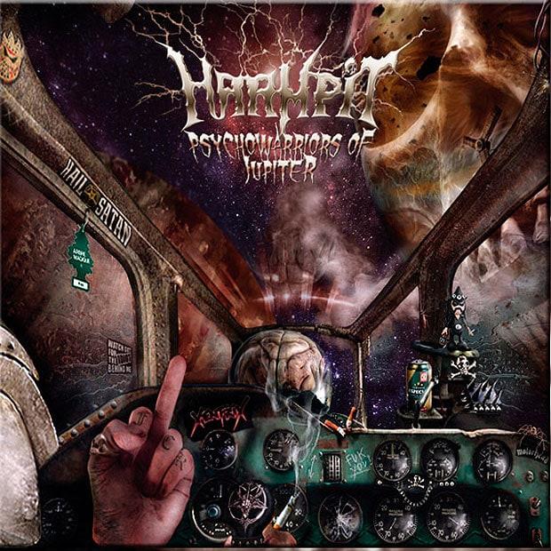 HARMPIT – Psychowarriors of Jupiter, 2018