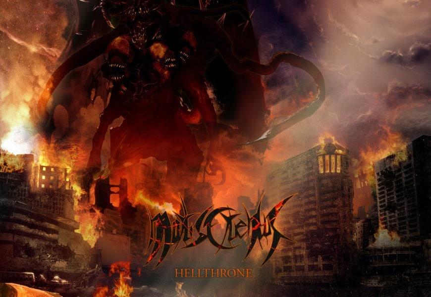 MORTIS CRUENTUS – Hellthrone, 2017