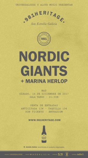 NORDIC GIANTS + MARINA HERLOP (MADRID)
