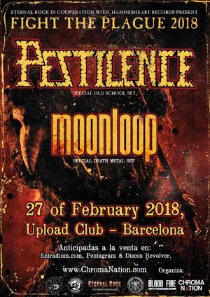 PESTILENCE + MOONLOOP
