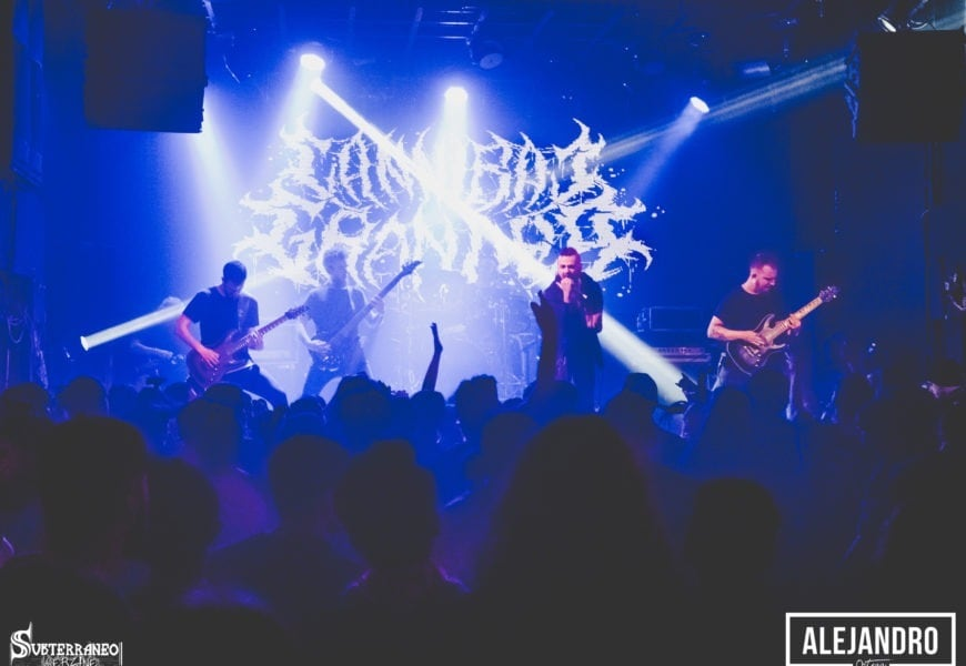 CANNIBAL GRANDPA + CLAWHAMMER (GBR) + TRALLERY + COUNTERACTT – Madrid – 27/01/2018
