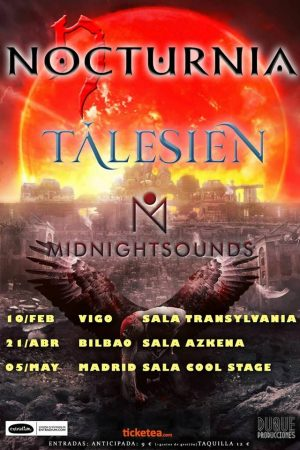NOCTURNIA + TÁLESIEN + MIDNIGHT SOUNDS