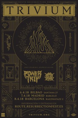 TRIVIUM + POWER TRIP + VENOM PRISON