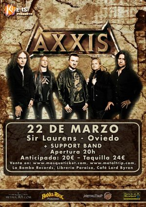 AXXIS + ARTISTA INVITADO