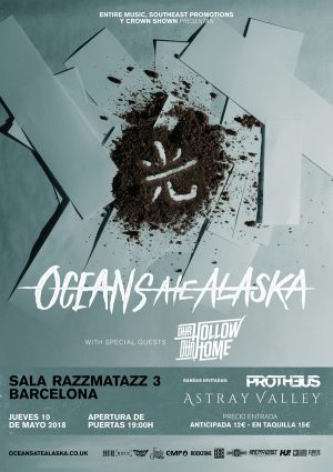 OCEANS ATE ALASKA + OUR HOLLOW OUR HOME + PROTHEUS + ASTRAY VALLEY