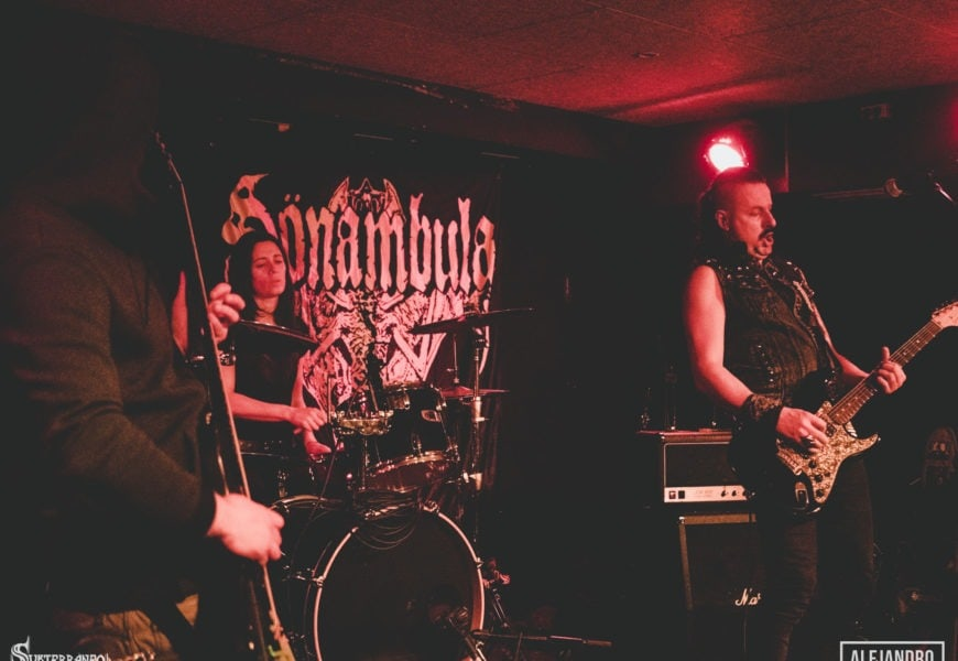 SÖNAMBULA – ABÿFS – CHAPTER HATE – Madrid – 24/03/2018