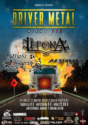 DRIVER METAL NIGHT III