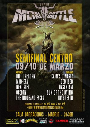 W:O:A METAL BATTLE SPAIN – SEMIFINAL CENTRO