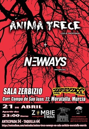ÁNIMA TRECE + NEW WAYS
