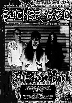 BUTCHER ABC (JAP) + BAD GRINDSPENCER