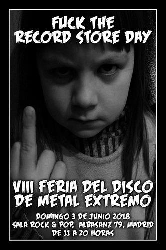 VIII Feria del Disco de Metal Extremo en Madrid