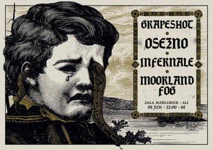 GRAPESHOT + OseznO + INFERNALE + MOORLAND FOG