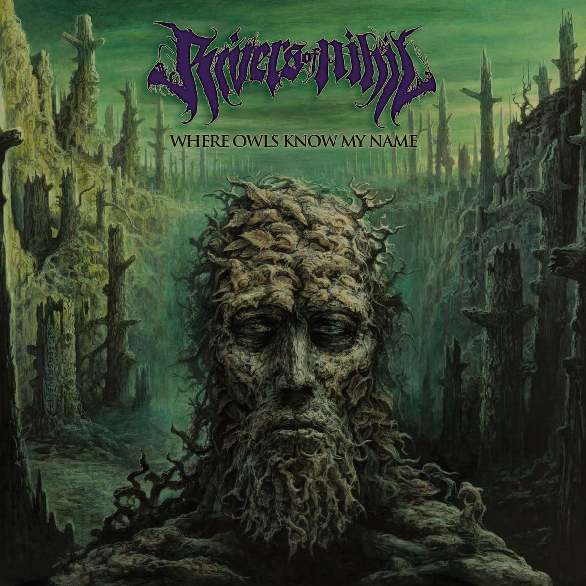 RIVERS OF NIHIL (USA) – Where owls know my name, 2018