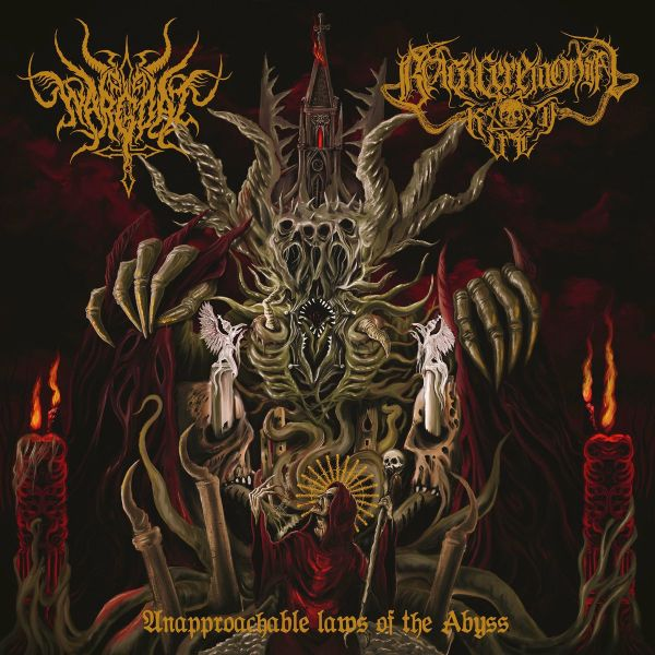 WARGOAT/BLACK CEREMONIAL KULT (GRC/CHL) – Unapproachable laws of the abyss, 2018