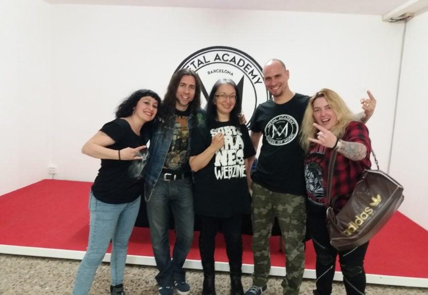 Elisa C. Martin e Iván Allué presentan sus libros en Metal Academy – Barcelona – 18/05/18