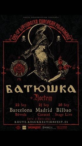 BATUSHKA + NOCTEM (Madrid)