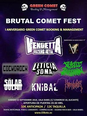 BRUTAL COMET FEST