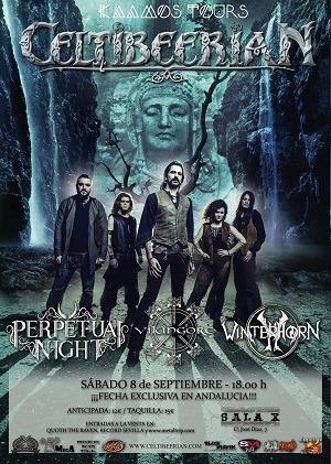 CELTIBEERIAN + VIKINGORE + PERPETUAL NIGHT + WINTERHORN