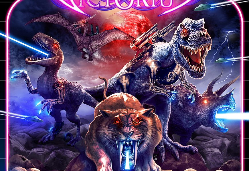 VICTORIUS (DEU) – Dinosaur warfare: Legend of the Power Saurus, 2018