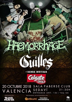 HAEMORRHAGE + GUILLES + COLGATE TOTAL