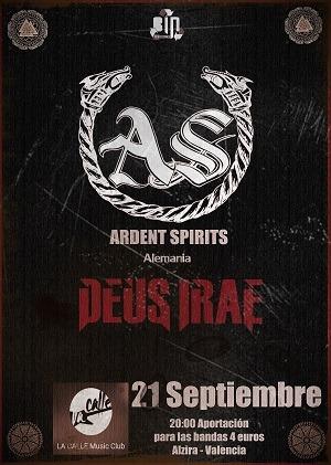 ARDENT SPIRITS + DEUS IRAE