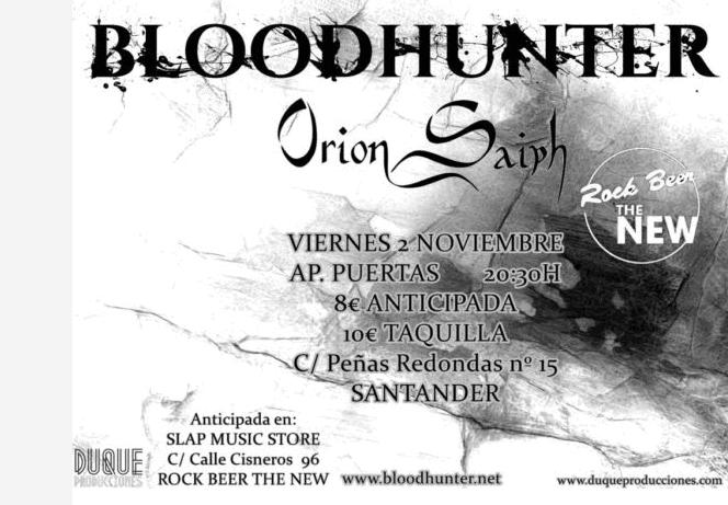 BLOODHUNTER + ORION SAIPH