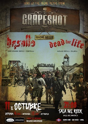 GRAPESHOT + BASALTO + DEAD FOR LIFE